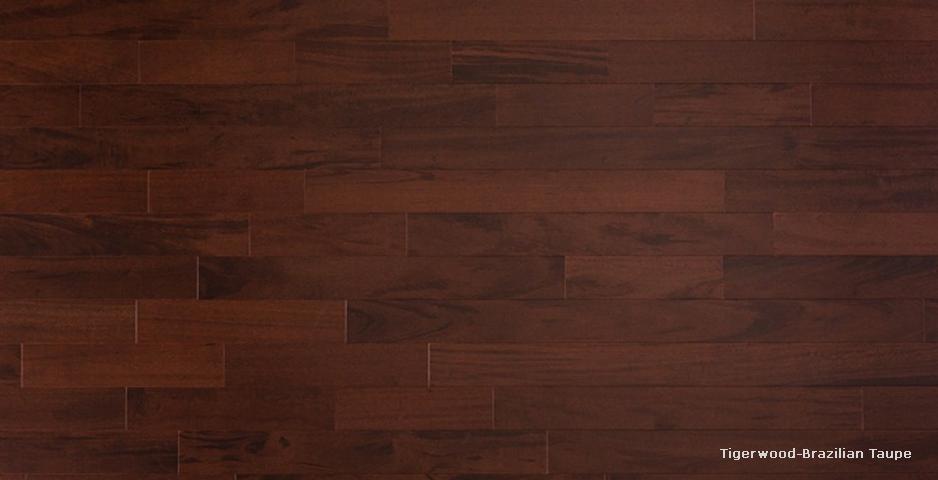 木材特點:老虎木学名虎斑楝,外皮灰褐色至黑褐色;日晒后成鳞片状翘曲,易脱落。内皮紫褐色,具光泽和松脂香味。纹理交错;结构细而匀;重量和强度中;干缩小。加工容易,径切面常有撕裂;胶黏、钉钉性能良好。略耐腐。干燥迅速,略有心裂。
